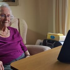 "Seniors Embrace ""No Touch"" Video Calling"